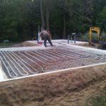 Bauindustrie soklimoodulid tööd